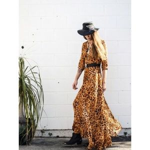 Spell & The Gypsy Wild Ones Amber Gown Size S NWOT